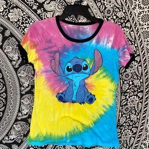 tie dye lilo and stitch